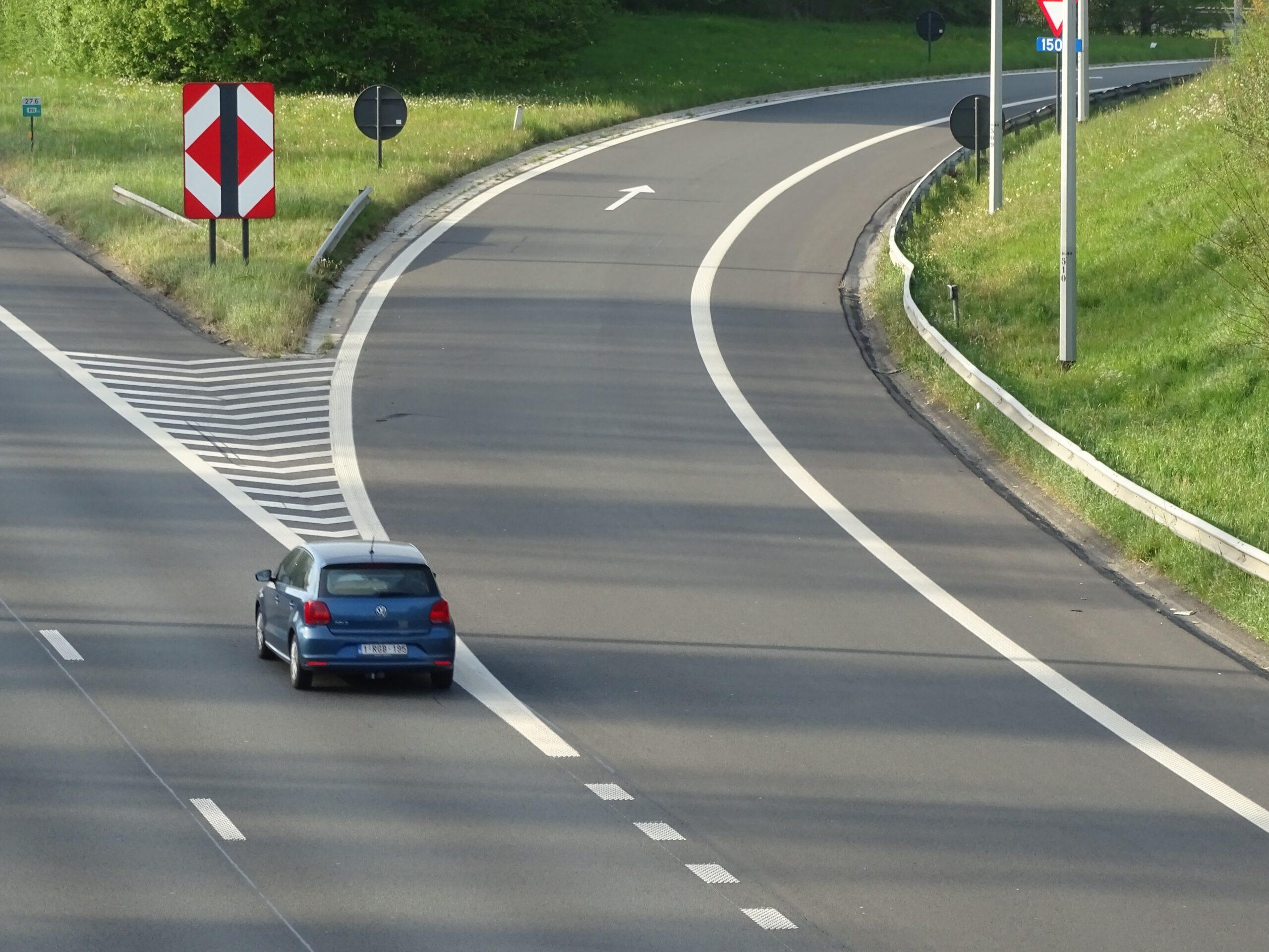 Snelweg flitspaal Utrecht